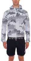 Męska bluza tenisowa Hydrogen Tech Skull FZ Hoodie - white camouflage