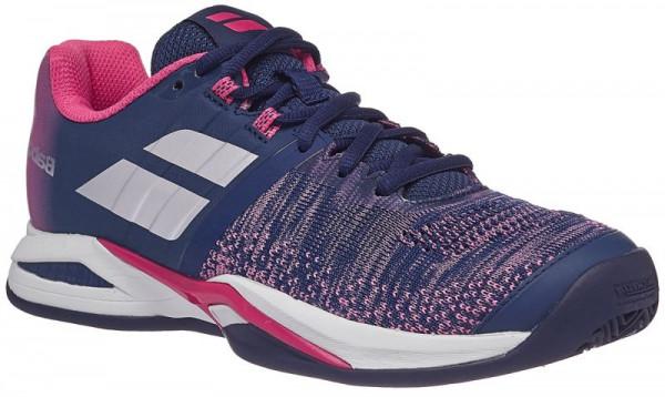 Damskie buty tenisowe Babolat Propulse Blast Clay Women - estate blue/fandango pink