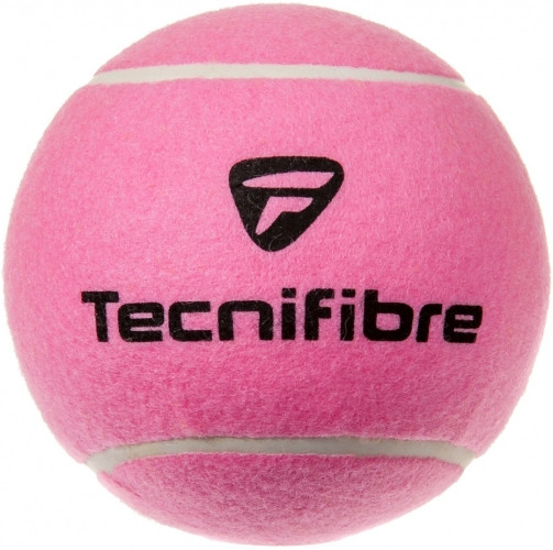 Autogrāfu bumbiņas Piłka Mini Gigant Tecnifibre Big 12 cm - pink