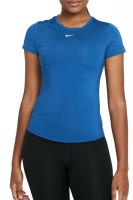 Naiste maika Nike One Dri-Fit SS Slim Top W - court blue/white