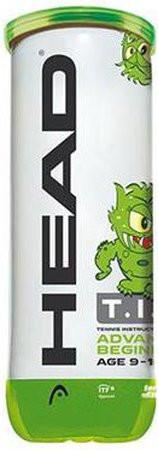 Juunioride tennisepallid Head T.I.P. Green 3B
