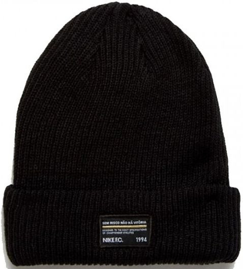 Cap Nike FC Seasonal Beanie - black