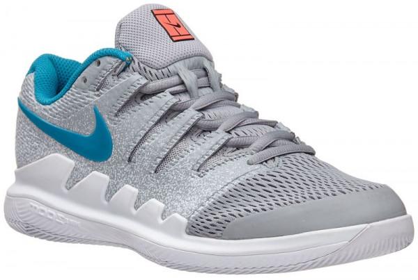 Damskie buty tenisowe Nike WMNS Zoom Vapor X HC - wolf grey/hot lava/white