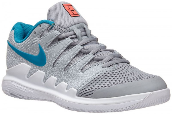 Damskie buty tenisowe Nike WMNS Air Zoom Vapor X - wolf grey/hot lava/white