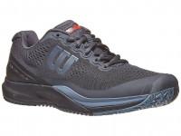 Męskie buty tenisowe Wilson Rush Pro 3.0 - ebony/black/infrared