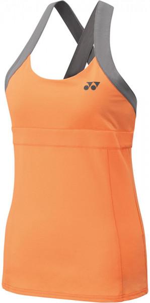 Naiste tennisetopp Yonex US Open Tank - light orange