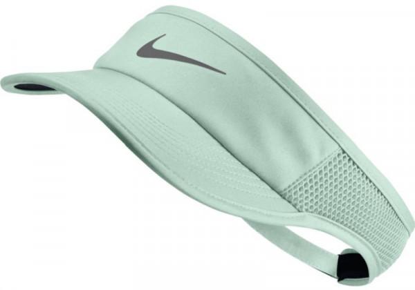 Nike Aerobill Feather Light Visor - barely green/barely green/metalic dark grey