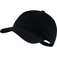 Czapka tenisowa Nike H86 Cap Futura Youth - black/black