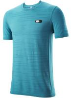 T-krekls vīriešiem Wilson Bela Seamless Crew II M - barrier reef