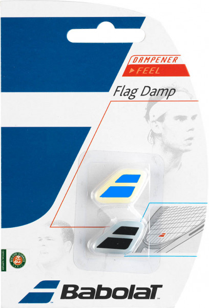 Vibration dampener Babolat Flag Damp - black/blue
