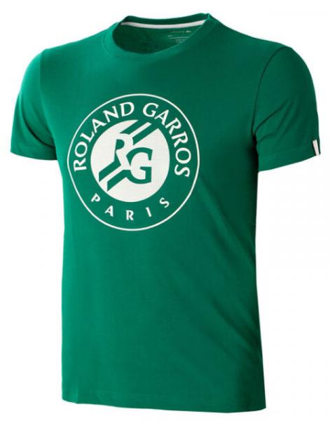 Męski T-Shirt Lacoste Roland Garros Tee - green/white/white