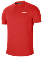 Męskie polo tenisowe Nike Court Dry Blade Polo - habanero red/habanero red/white