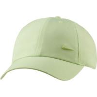 Nike H86 Metal Swoosh Cap - lt liquid lime/metallic silver