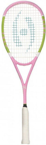 Rakieta do squasha Harrow Vapor Prep - pink/lime/white