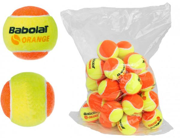 Juniorskie piłki tenisowe Babolat Orange 36 szt. - (worek)