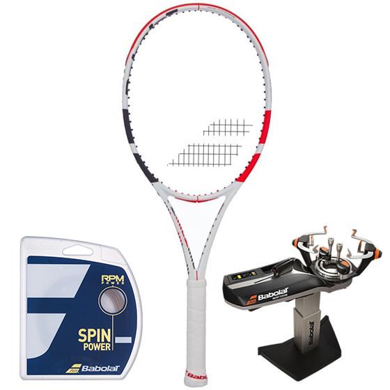 Rakieta tenisowa Babolat Pure Strike Lite 3gen. + naciąg RPM Power + usługa serwisowa