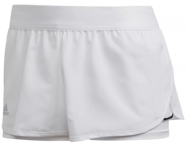 Damskie spodenki tenisowe Adidas Club Short W - white/metallic silver/black