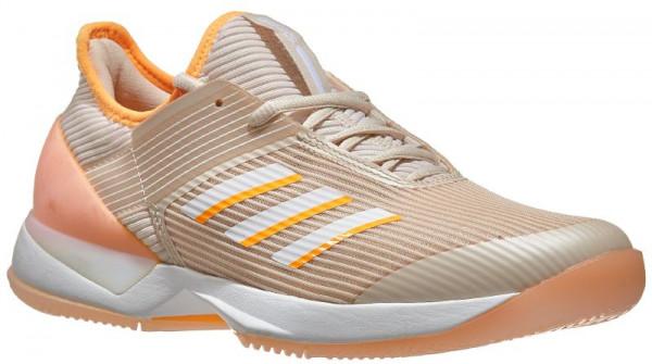 Women's shoes Adidas Adizero Ubersonic 3 W linenwhiteflash orange