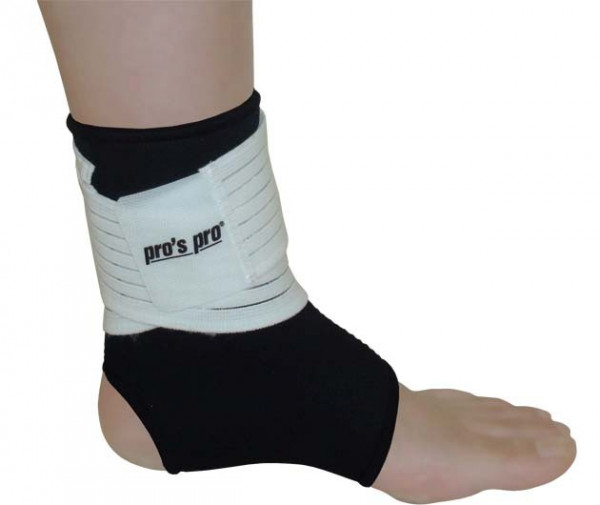 Opaska na staw skokowy Pro's Pro Ankle Joint Support - black