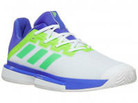 Adidas Sole Match Bounce Tennis Shoes M - sonic ink/screaming green/signal green
