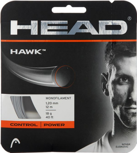 Tennisekeeled Head HAWK (12 m) - grey