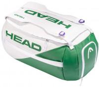 Tenisa soma Head White Proplayer Sport Bag -  white/green