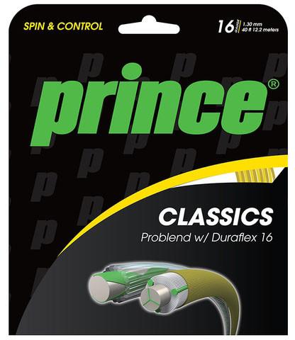 Tenisa stīgas Prince Problend Duraflex (6,7 m/6,1 m) - gold