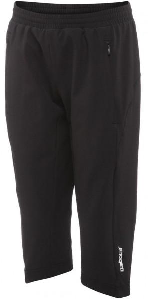 Spodnie dziewczęce Babolat 3/4 Pant Match Performance Girl - black