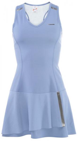 Damska sukienka tenisowa Head Performance Dress W - light blue/silver