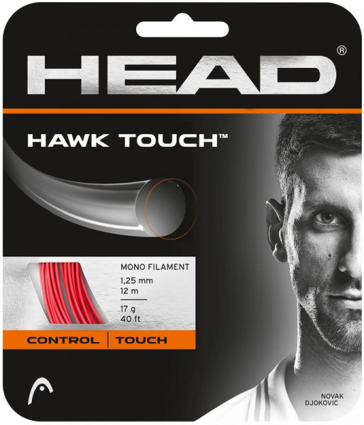 Tennisekeeled Head HAWK Touch 1,20 Red (12 m) (Soovitame)