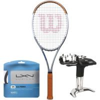 Rakieta tenisowa Wilson Blade 98 16x19 V7.0 Roland Garros Limited Edition + naciąg + usługa serwisowa