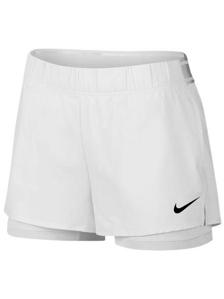 2a307dc8969f2e Nike Court Flex Short - white/black   Spodenki   Odzież Damska ...