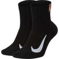 Skarpety tenisowe Nike Multiplier Max Ankle 2PR - 2 pary/black/black