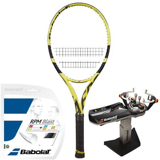 Rakieta tenisowa Babolat Pure Aero+ (Plus) + naciąg + usługa serwisowa