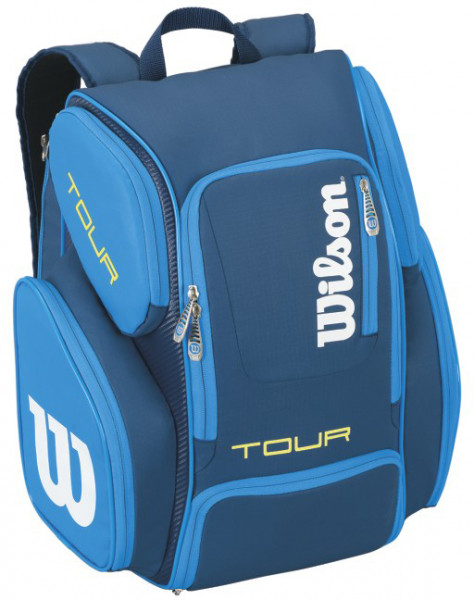 1906c5d0f3501 Plecak Tenisowy Wilson Tour V Backpack Large - blue