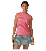 Damski top tenisowy Asics Match W GPX Tank - peach petal