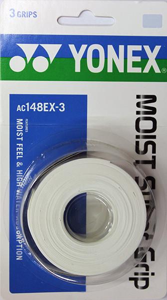 Yonex Moist Super Grap (3 szt.) - white