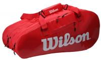 Torba tenisowa Wilson Super Tour 3 Comp - red