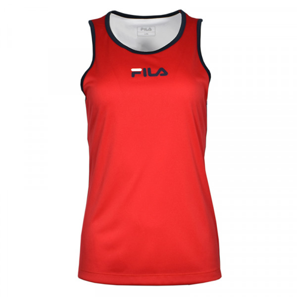 Naiste tennisetopp Fila Top Amber W - fila red