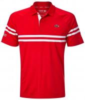 Męskie polo tenisowe Lacoste Novak Spring Polo M - red