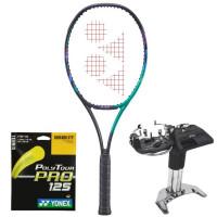 Tenisa rakete Yonex VCORE Pro 100 (300g) - green/purple  + stīgas + stīgošanas pakalpojums