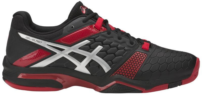 Asics Gel-Blast 7 - black/silver/prime red