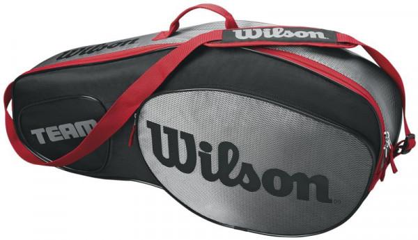 Wilson Team III 3 Pack Bag - black/grey