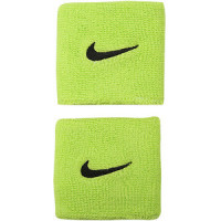 Aproces Nike Swoosh Wristbands - atomic green