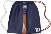 Plecak tenisowy Wilson Roland Garros Cinch Bag - navy/clay