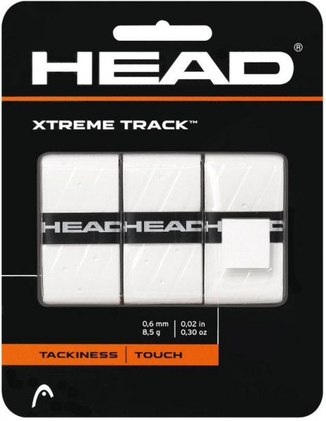 Overgrip Head Xtremetrack (3 szt.) - white