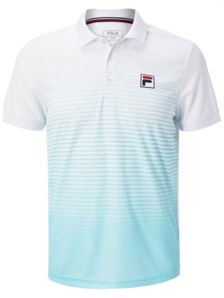 Polo marškinėliai vyrams Fila Polo Jaden M - island paradise/white
