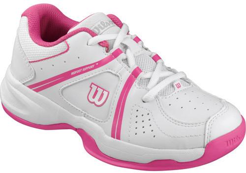 Wilson Envy Jr - white/fandango pink