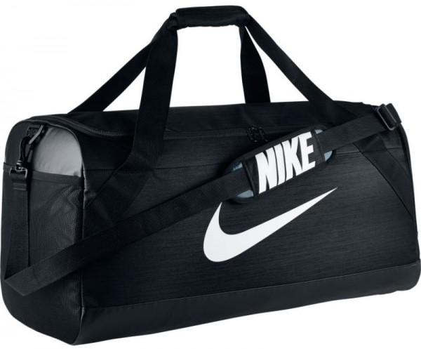 Nike Brasilia Large Duffel - black/black/white