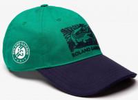 Czapka tenisowa Lacoste Roland Garros Edition Printed Cap - green/navy
